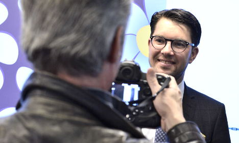 Swedish nationalists cheer record poll support