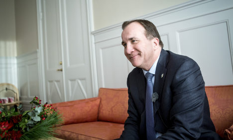 Swedish PM 'confident' of refugee opportunities