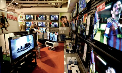 100,000 Swedish families 'have to buy new TV'