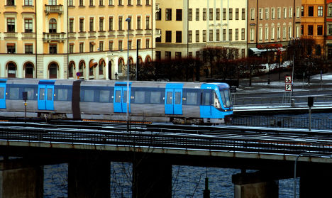 Arrest after Stockholm 'thief' punches and spits at mum