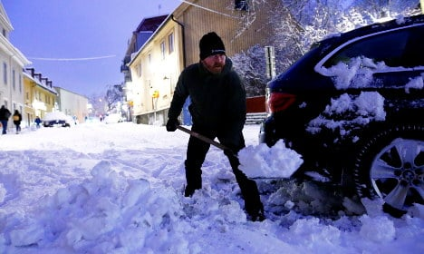 Here's how snow is causing chaos for Swedish travellers