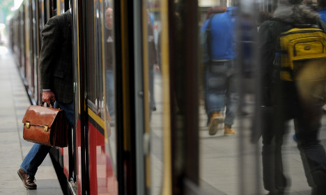 Swede was 'shoved' under train by man with 'violent past'