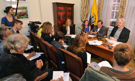 Ecuador: We'll cooperate with Sweden on Assange