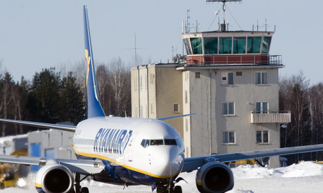 Swedish airport shut down after bomb scare