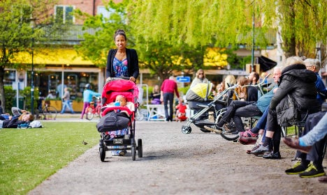 'Having young children abroad is stressful'