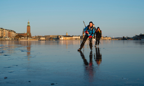 Five top tips for staying safe on the ice in Sweden