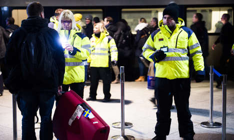 Border ID checks are costing one million kronor a day