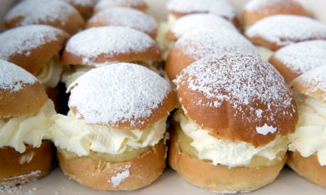 What's the fuss about Sweden's semla bun?