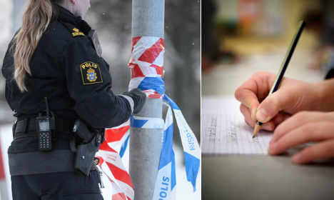 This kids' note to police is just the cutest job application
