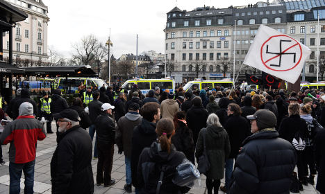 Swedes tell racists: 'We are not your women'