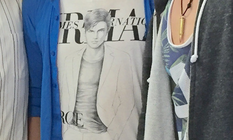 'Dildo T-shirt' photo defended by Swedish newspaper