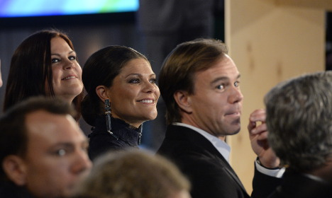 Is this our last glimpse of Swedish royal's baby bump?