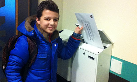 This Syrian boy wants to meet the King of Sweden