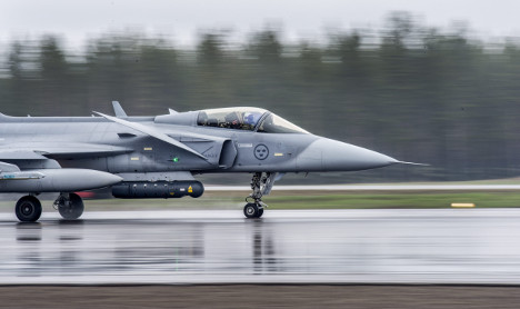 Swedes will not send jets to help French fight Isis