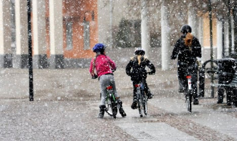 Slushy Easter: Swedes told to prepare for weekend snow