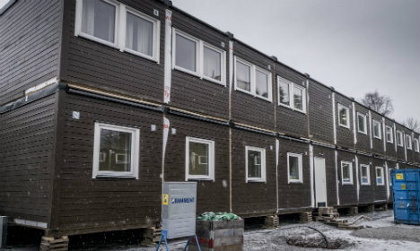 Swedish offices marketed as 'asylum accommodation'