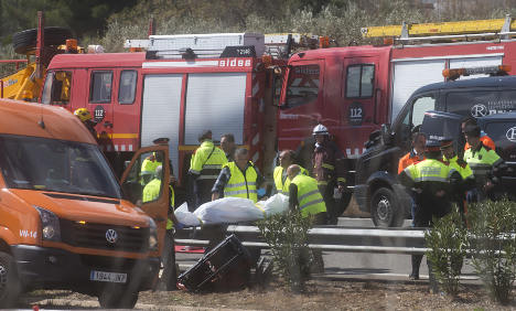 Swedish student caught up in deadly Spanish bus crash