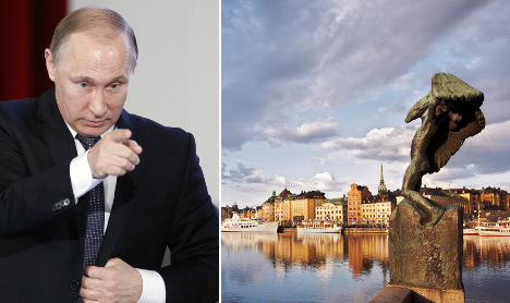 Russian spies pose as diplomats in Sweden