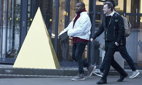 Ikea town goes nuts for unexpected Kanye West visit