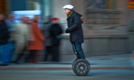 Stockholm bike theft sparks low-speed Segway chase