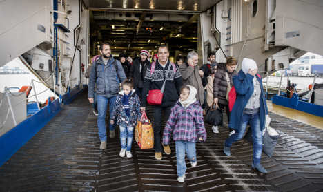 Sweden can't count on other EU states to share refugees