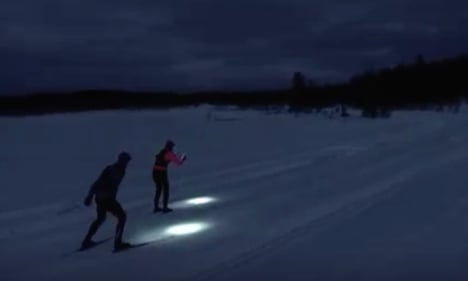 Here's what the world's first night ski race will look like