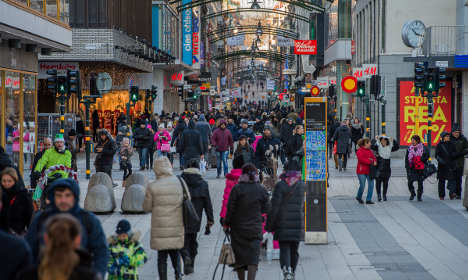 US expats told to 'avoid crowded places' in Stockholm