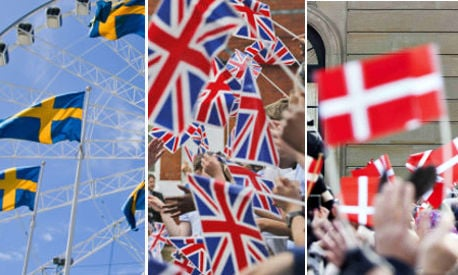 Sweden and Denmark UK's 'closest allies' in EU voting