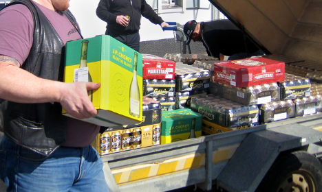 Swedish booze cruisers to get back 1000 litres of alcohol