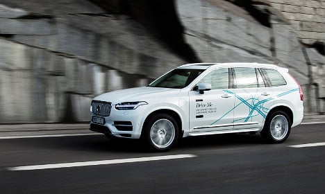 Volvo wants Brits to try these self-driving cars in London