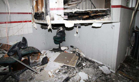 Swedish man jailed for starting mosque fire
