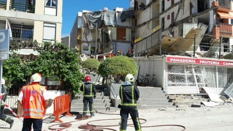 Swedes witness building collapse in tourist hotspot