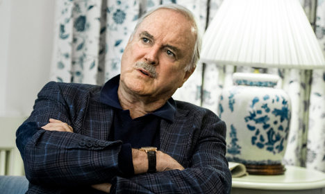 'Don't mention the shower!' Cleese thrashes Sweden hotel