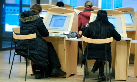 Half of all jobless in Sweden are foreigners