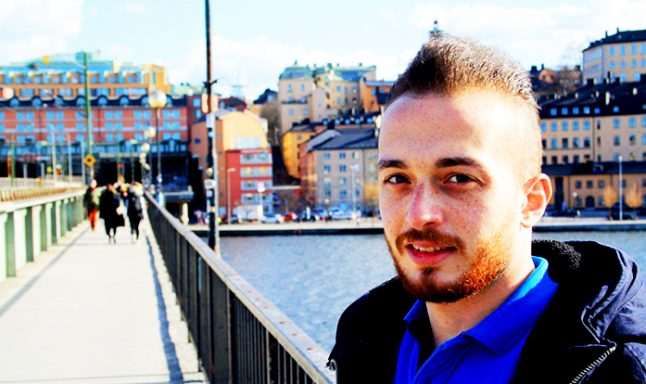 Volunteering, studying… and waiting: Yaser's life in Sweden