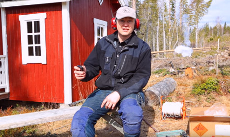 Meet Dynamite Erik, a Swede who blows things up for fun