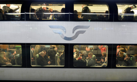 Travellers stuck on train for six hours in Sweden