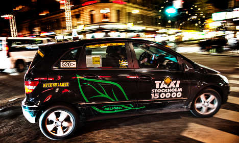 Stockholm taxi drivers 'help clients find prostitutes'