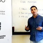 How Samir got a job teaching Swedish - after two years in Sweden