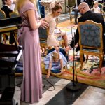 Did Princess Leonore just fall off her chair?Photo: Anders Wiklund/TT