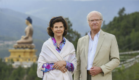 Sweden's royals hold 40th anniversary party