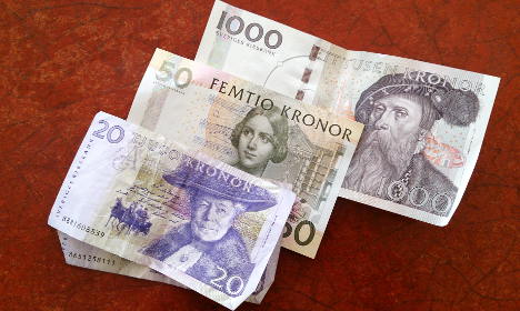 Use it or lose it: Swedish banknotes expire this week