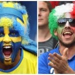 Italy v Sweden: Battle of the hair, food and nudists