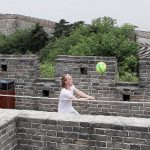 Watch Swedes play volleyball on Great Wall of China