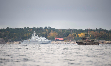 Was there another submarine in Swedish waters this year?