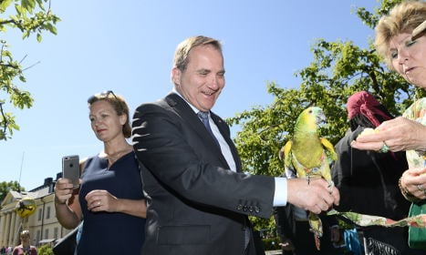 'I am so lucky to be Swedish': prime minister