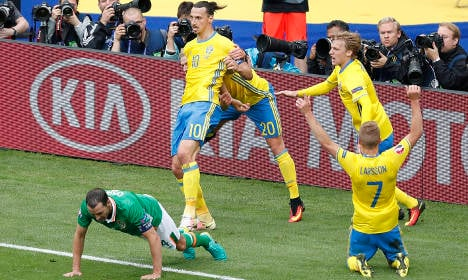 Ireland 1-1 Sweden: Swedish blushes spared by own goal