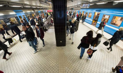 Man, 23, wakes up after Stockholm metro 'attack'