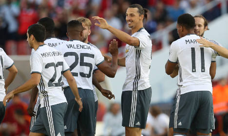 Zlatan takes just 190 seconds to make mark