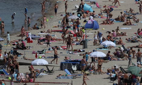 Sweden to sizzle in the sun for a few more days